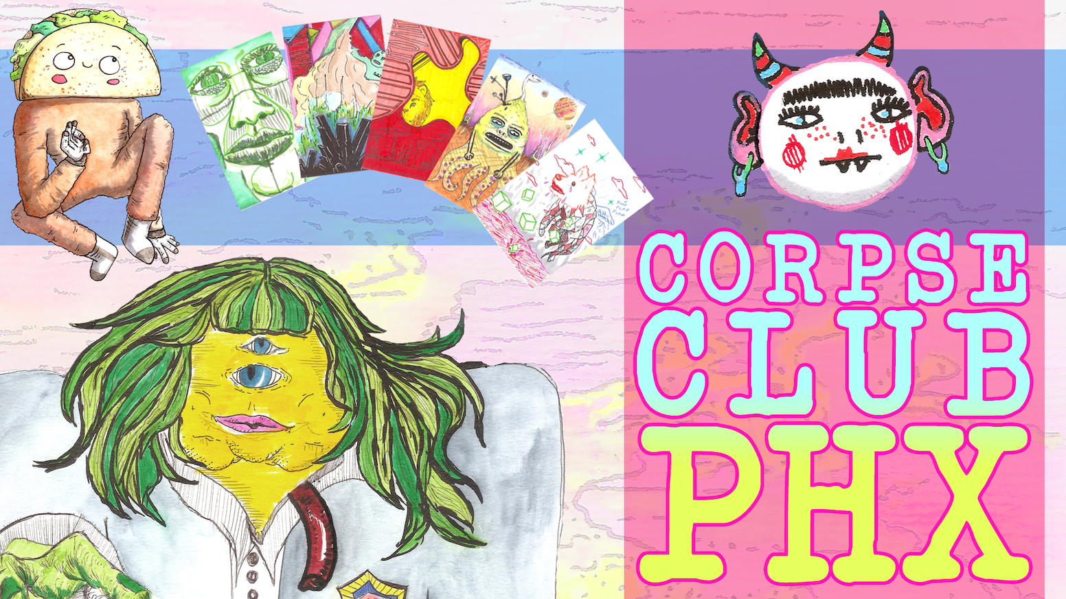 Corpse Club PHX: A Collaborative Art Bazaar! by Corpse Club PHX ...