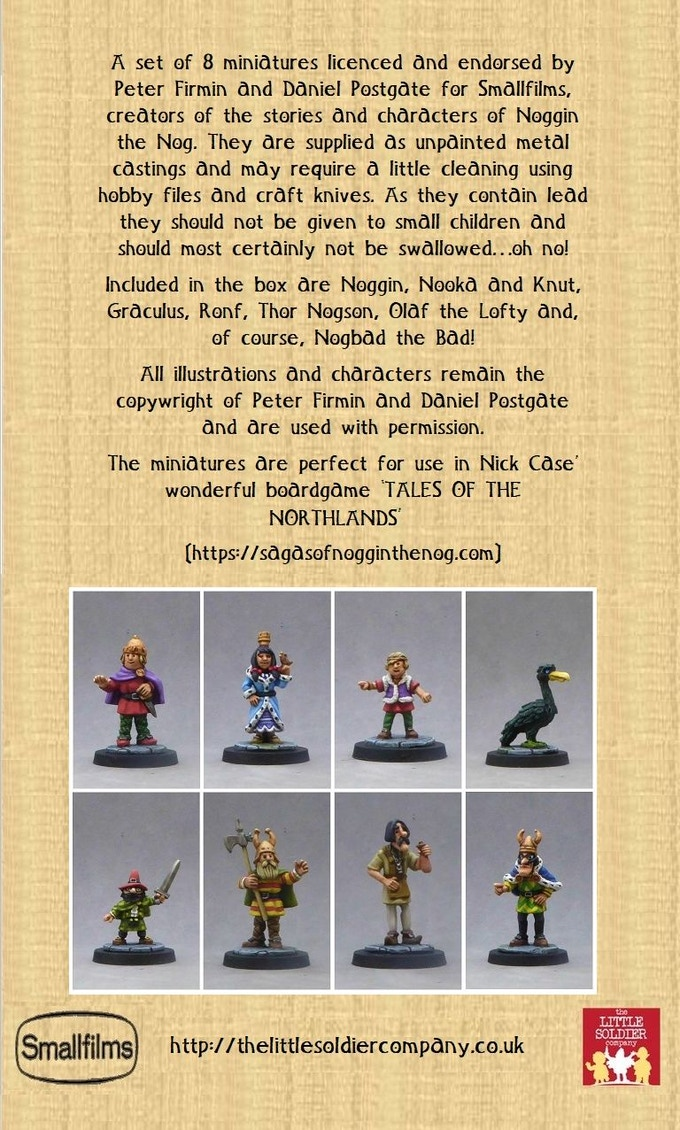 The Characters Set (contents, unpainted!)
