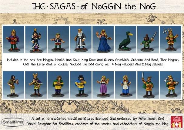 Sagas boxed set (contents, unpainted!)