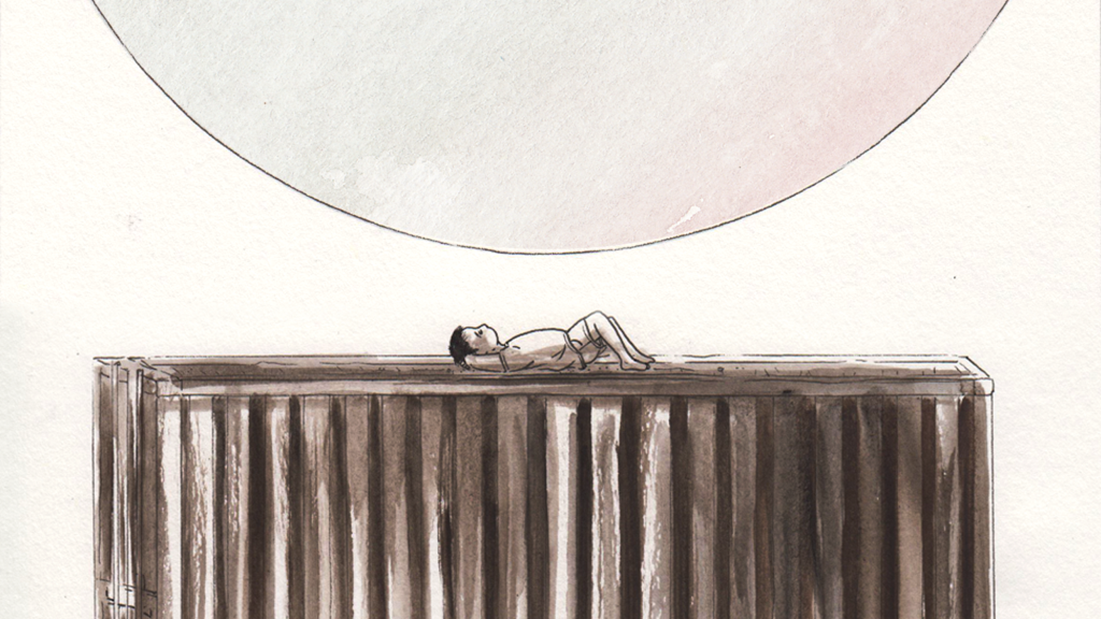 An ethereal and enchanting short comic story, printed in a mini-tabloid newspaper format.