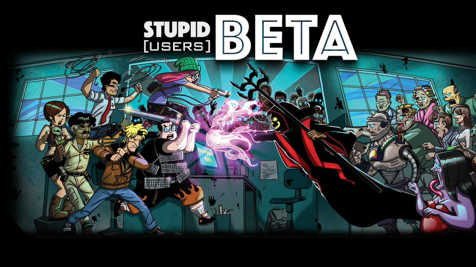 BETA is an unique fast-paced, ever-changing, item looting, army building card game.