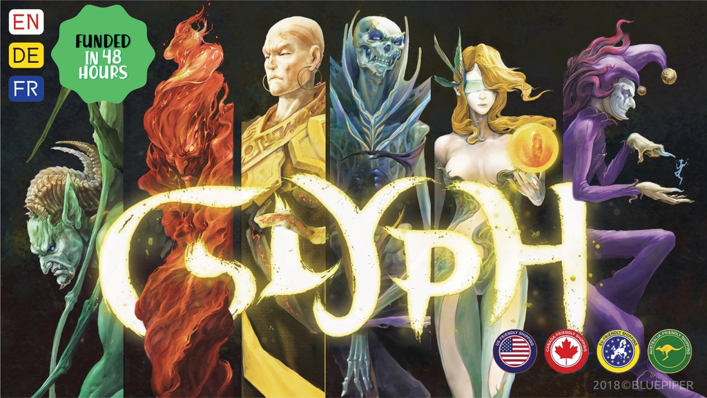 Glyph Chess - The Magic Board Game project video thumbnail