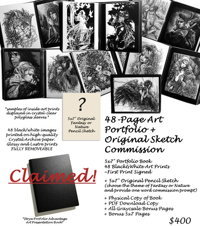65ca3f917 To Add On: an extra copy of a book to an Art or Commission pledge tier,  please add $20 per book (+ $10 shipping for International orders)