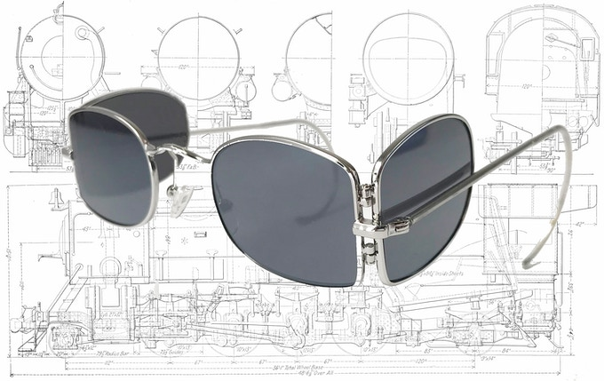Stoker Railway Glasses with Modern Design