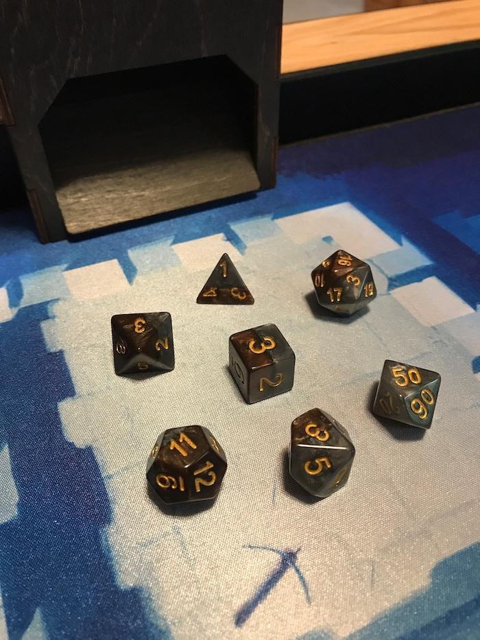 Halfsie's dice