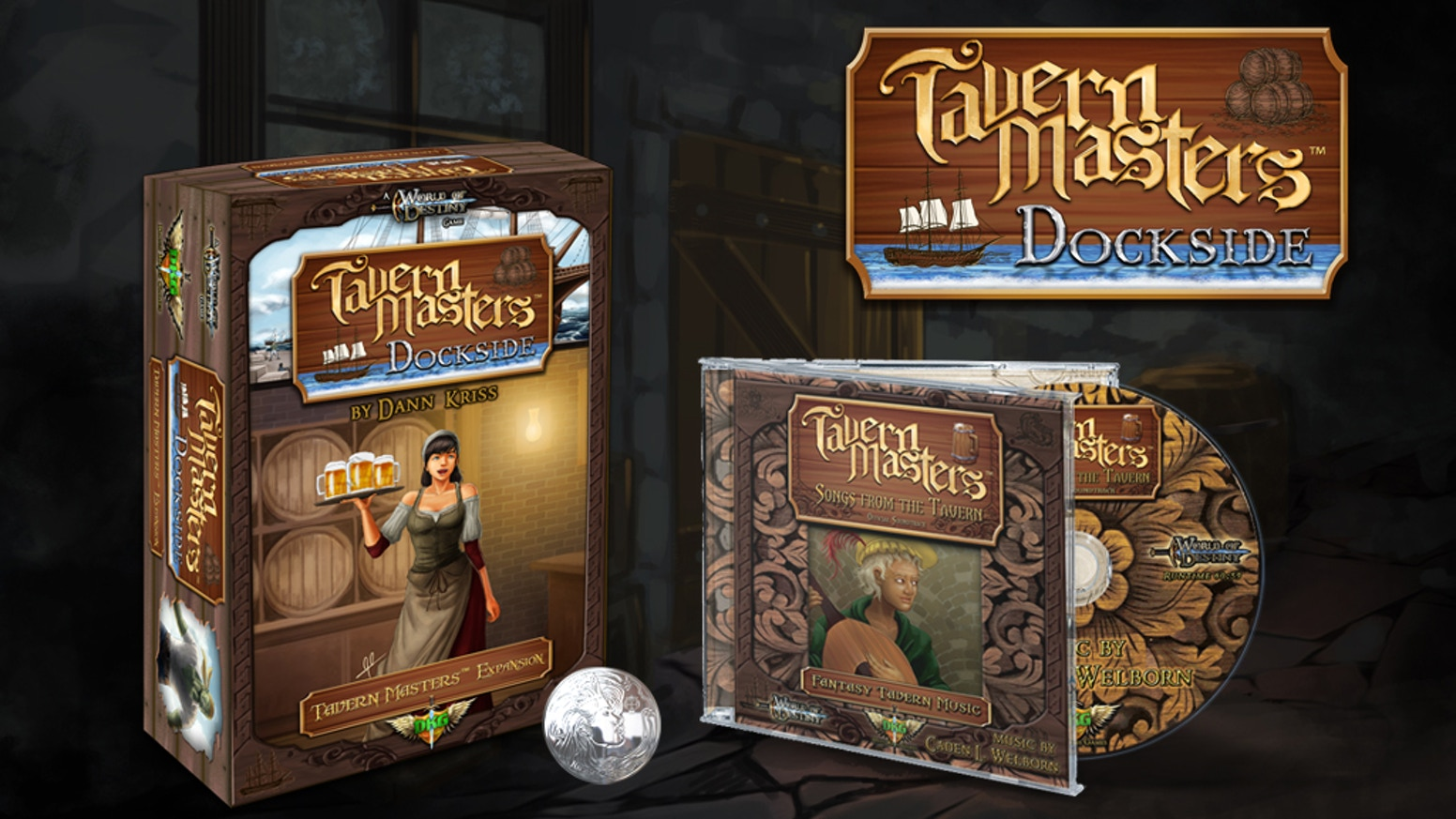 Tavern Masters Dockside Expansion And Soundtrack By Dann Kriss Switch Runner 3 Launch Edition Bonus English Us Games Help Fund The New For