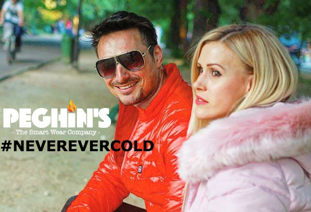 Never Ever Cold with Peghin's Smart Heated Jacket