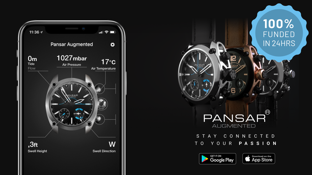 Pansar Augmented watch - Stay connected to your passion project video thumbnail