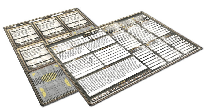 Tabula Praetorianis and Tabula Systemis of Thulile, one of the pregenerated PGs you will find in Agusta Universalis