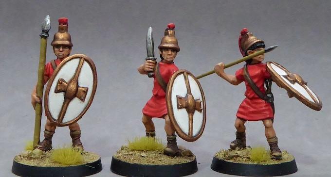 56. Ptolemaic Egyptian Infantry II (Unarmoured)