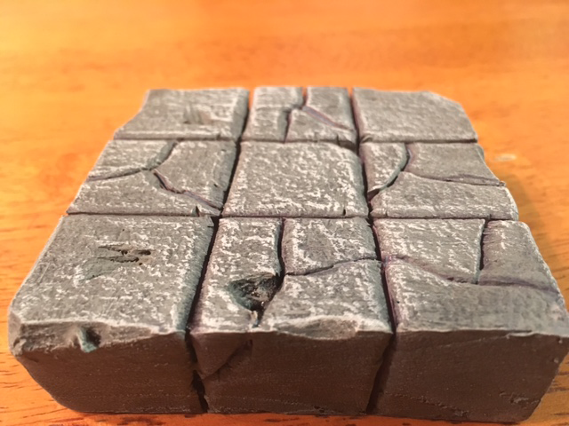 Handcrafted Foam Dungeon Tiles - Kickstarter - Reaper