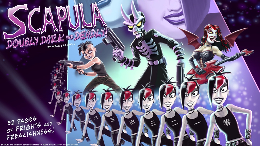 SCAPULA: Doubly Dark and Deadly! project video thumbnail
