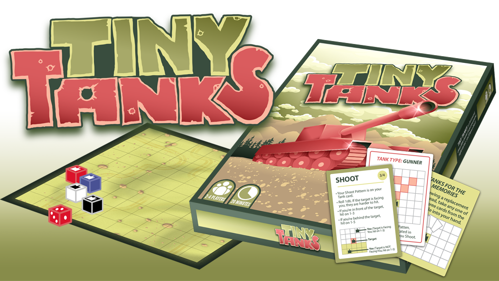 TINY TANKS - the little game of huge fun! project video thumbnail