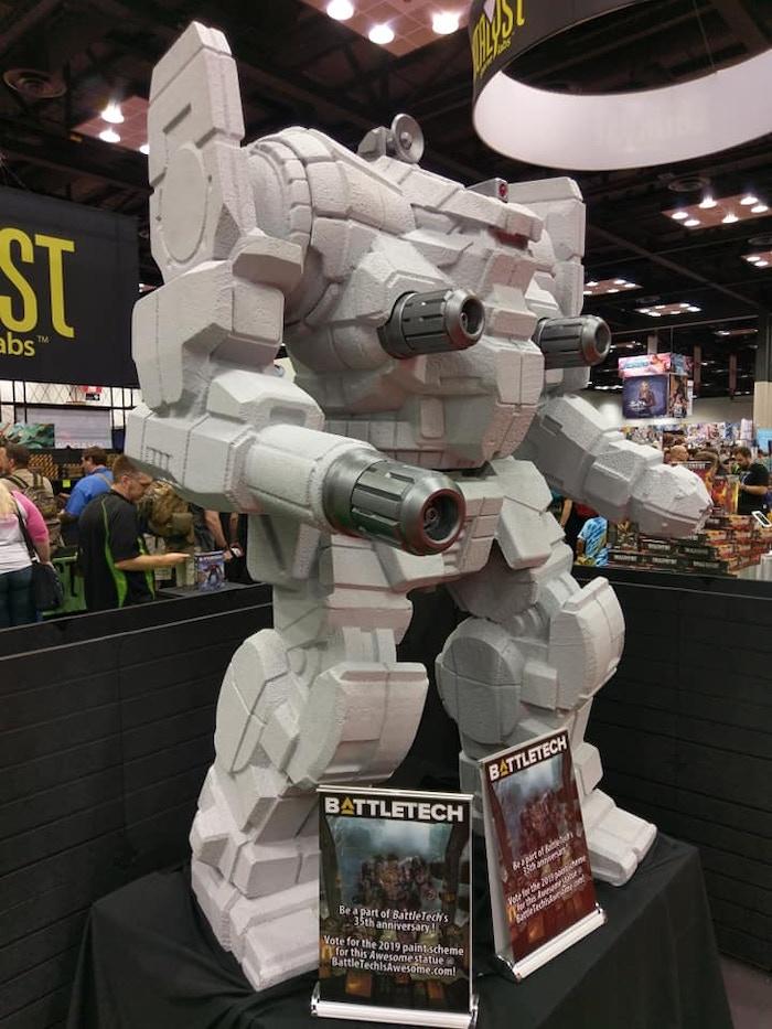 A big flippin' robot