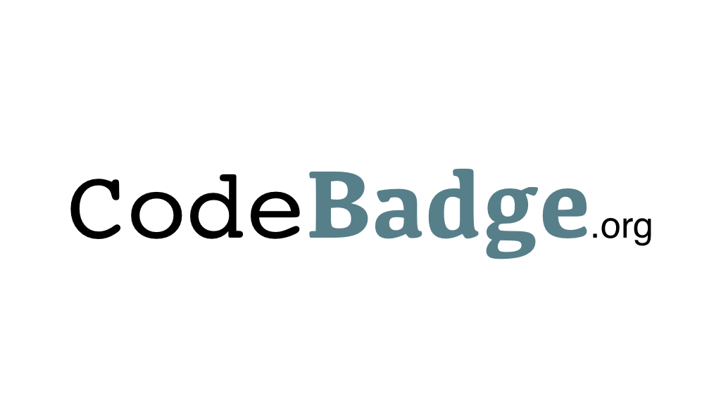 Project image for CodeBadge.org