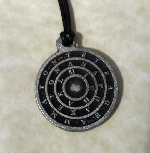 80 Solid metal Goetia coins All 72 Lesser Key Solomon Demons by