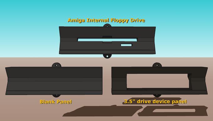 Standard drive panel options