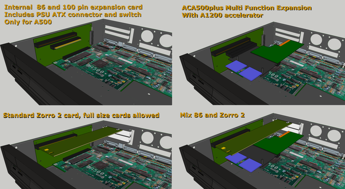 A500 internal expansion optional board
