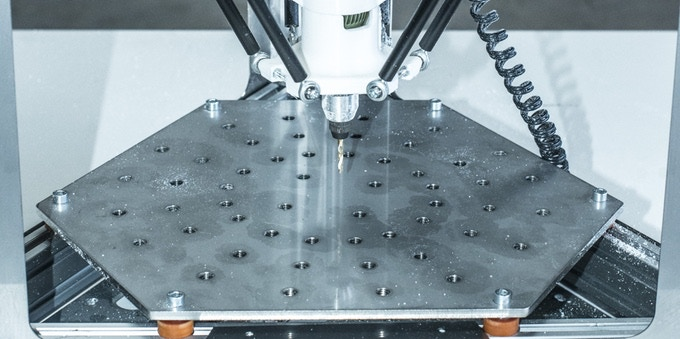 Heavy-Duty Milling Machine Table for fixing the material