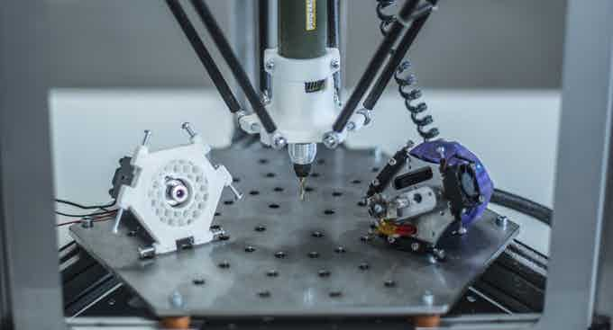 Multi-functional 3D Systems Machine. A full factory on your desktop