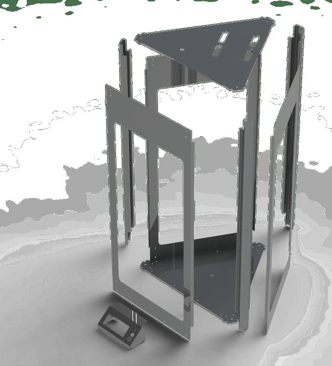 All Metal Enclosure