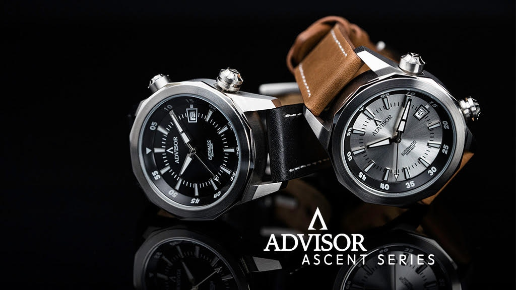 """ASCENT, The """"Super Compressor"""" Classic/Skull Automatic Watch project video thumbnail"""