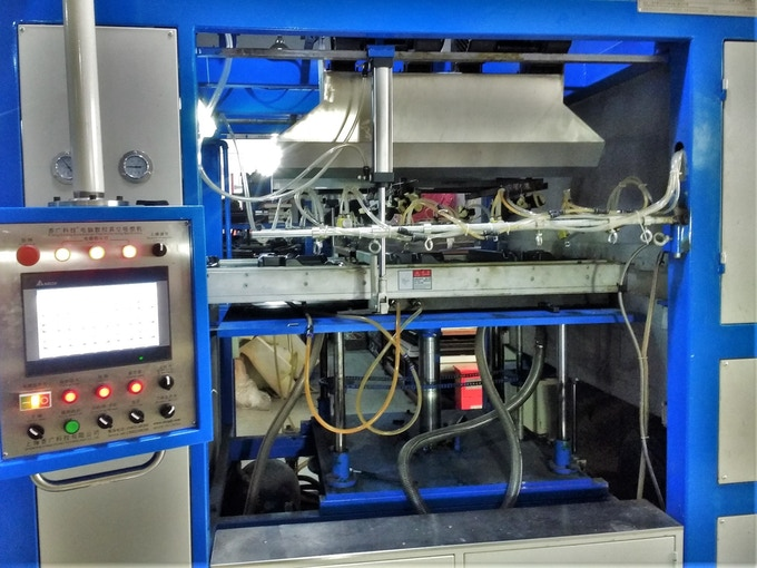 Industrial Vacuform Machine
