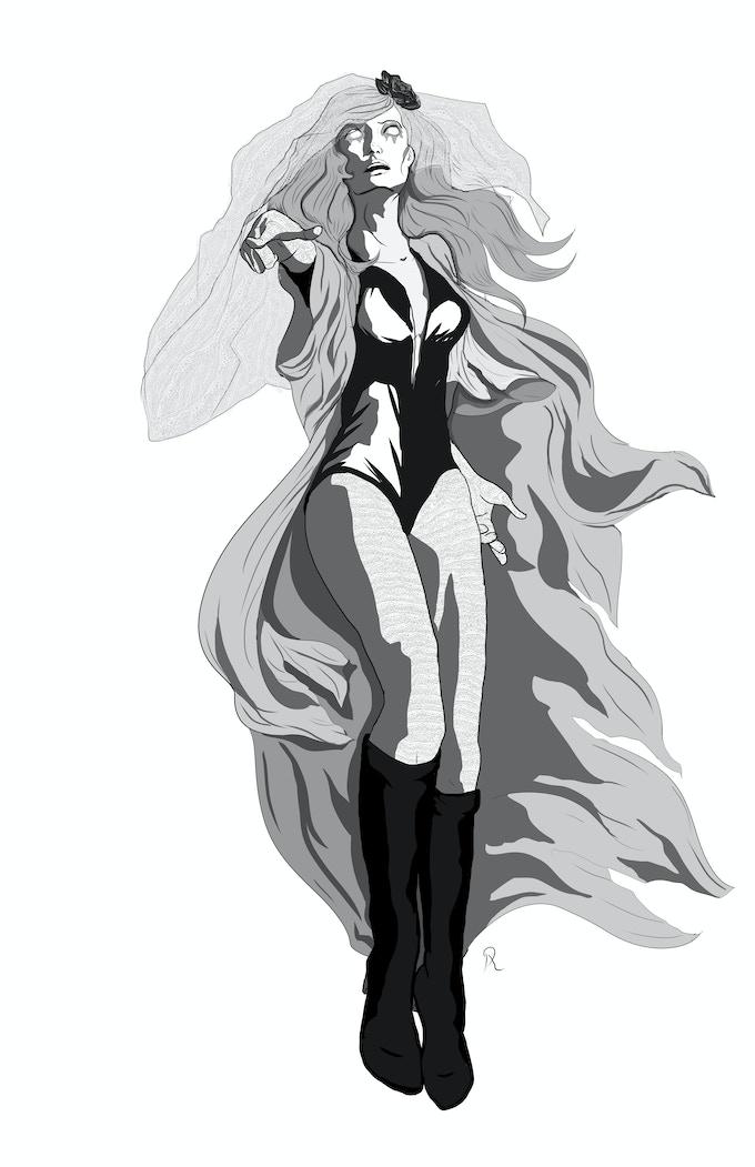 Fan art of The Banshee