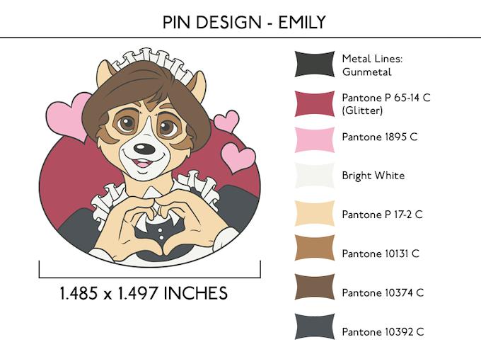 Emily Pin - UNLOCKED at $2,000