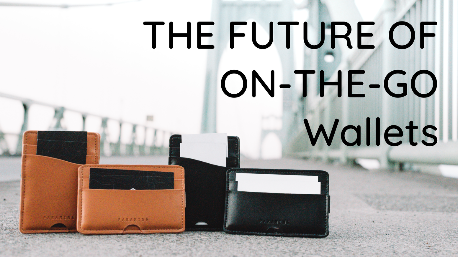 The World's most versatile, weather-resistant wallets. Minimal Design, engineered for quick actions, and made to impress.