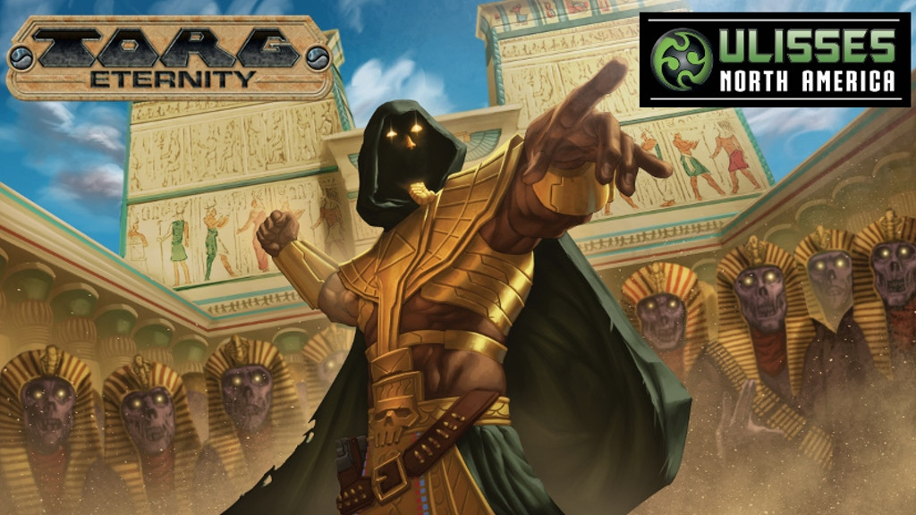 Torg Eternity - The Nile Empire project video thumbnail
