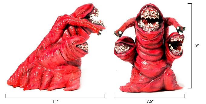 The Deadly Spawn Toy Dimensions