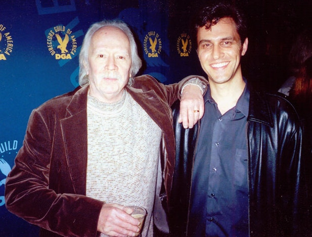 Richard Gale with Halloween director John Carpenter at the Director's Guild of America premiere of Masters of Horror
