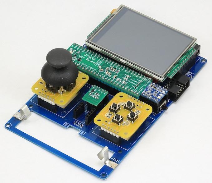 Assembled DevBoy without plastic parts