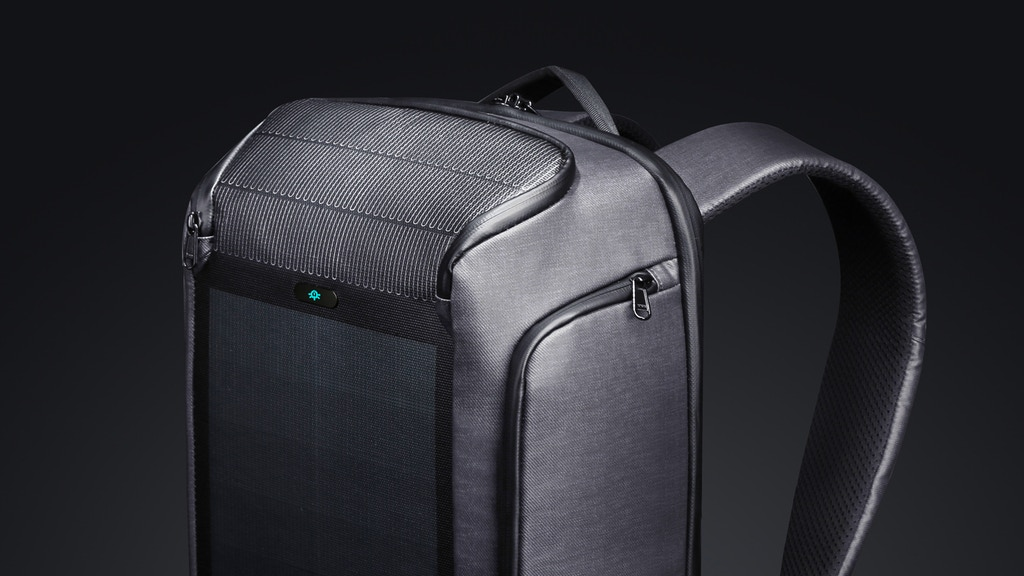 Beam Backpack - The Most Advanced Solar Power Backpack project video thumbnail