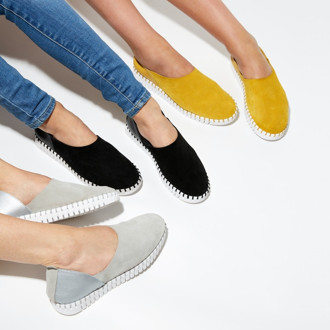 The BENDY: a modern comfort shoe wtih low carbon footprint