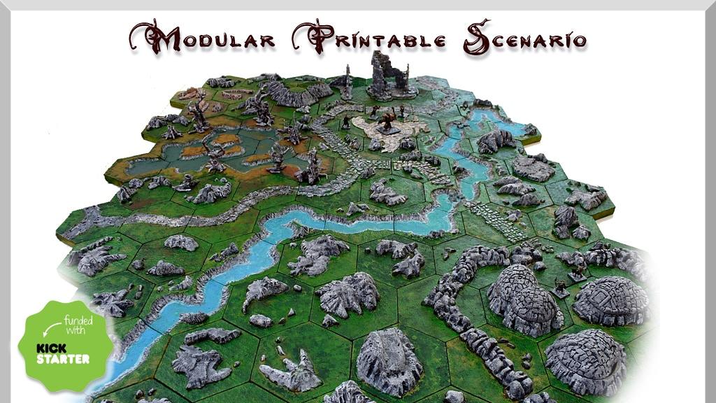 Modular printable scenario project video thumbnail