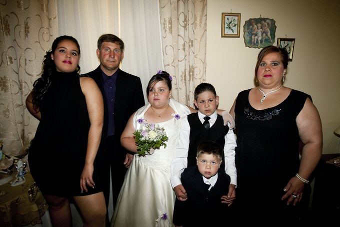 Marzia's home, Holy Communion, June 2012