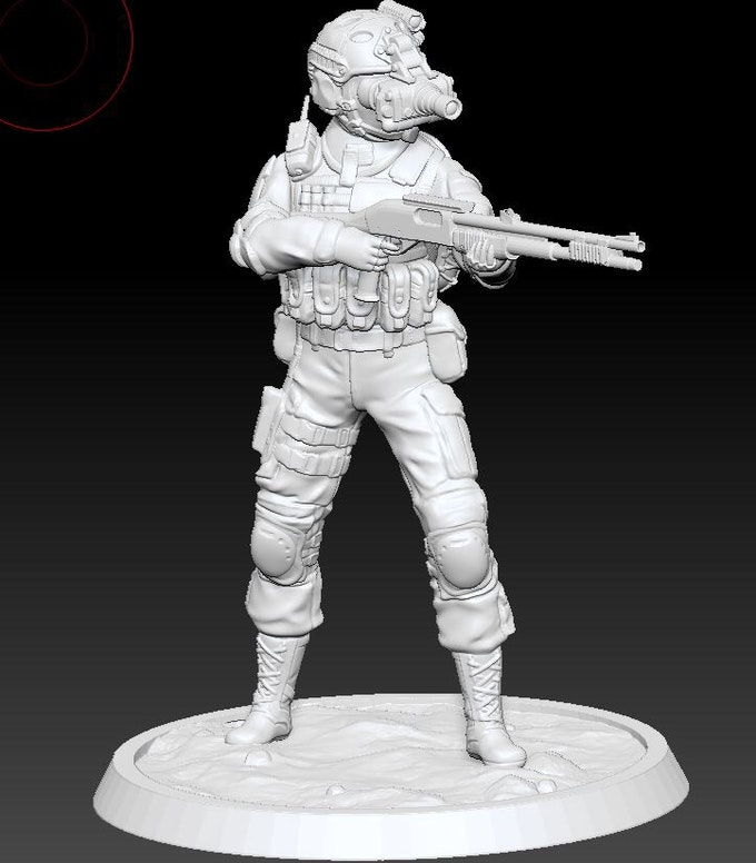 Recon shotgunner