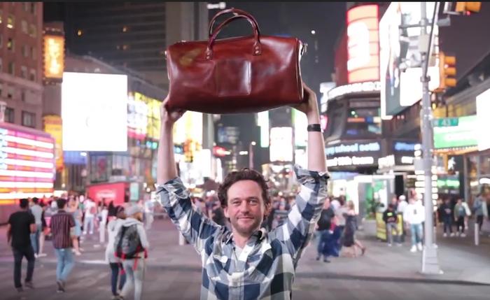 American Veg Tan Leather Bags: Weekender, Briefcase, Laptop Bag, Tote, Crossbody, Belt, Bifold, Travel Wallet, Pocket Wallet