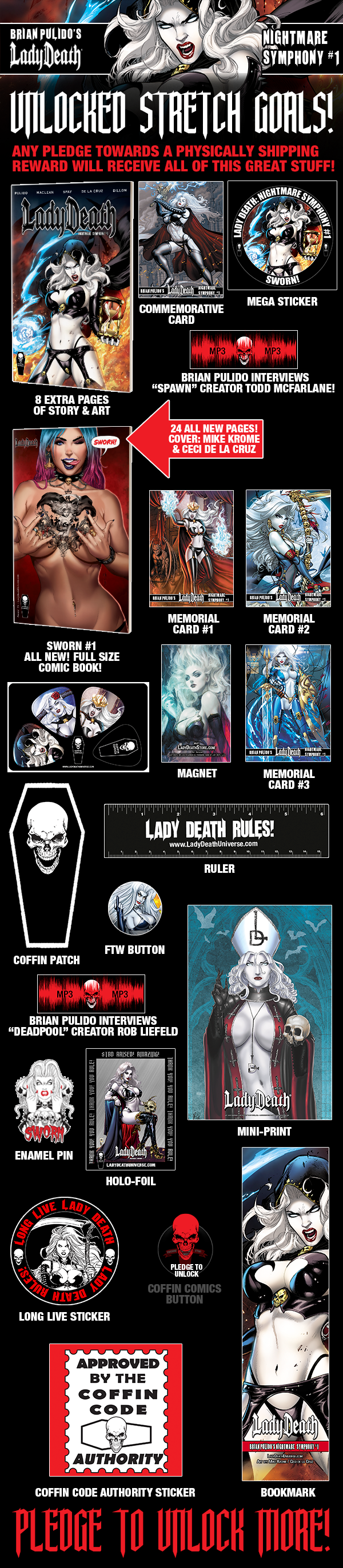 All stretch goal incentives unlocked to $250,000!
