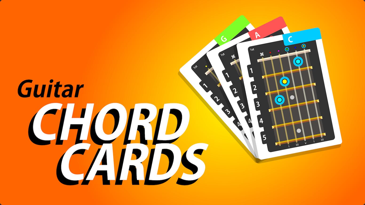 Chord Cards By Carter Scott Kickstarter
