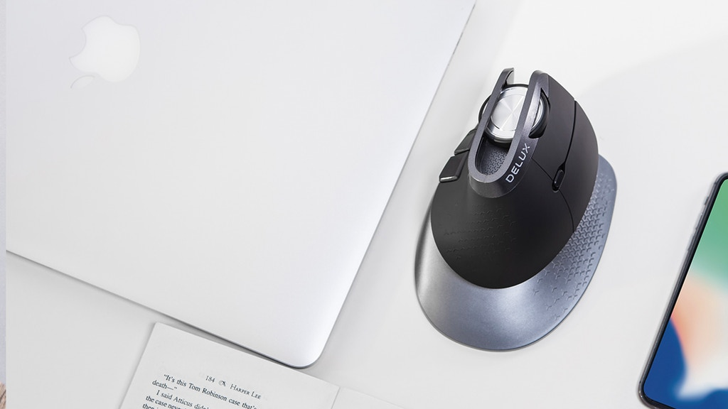 Delux Navee - Best Ergonomic Mouse for Longterm Comfort project video thumbnail