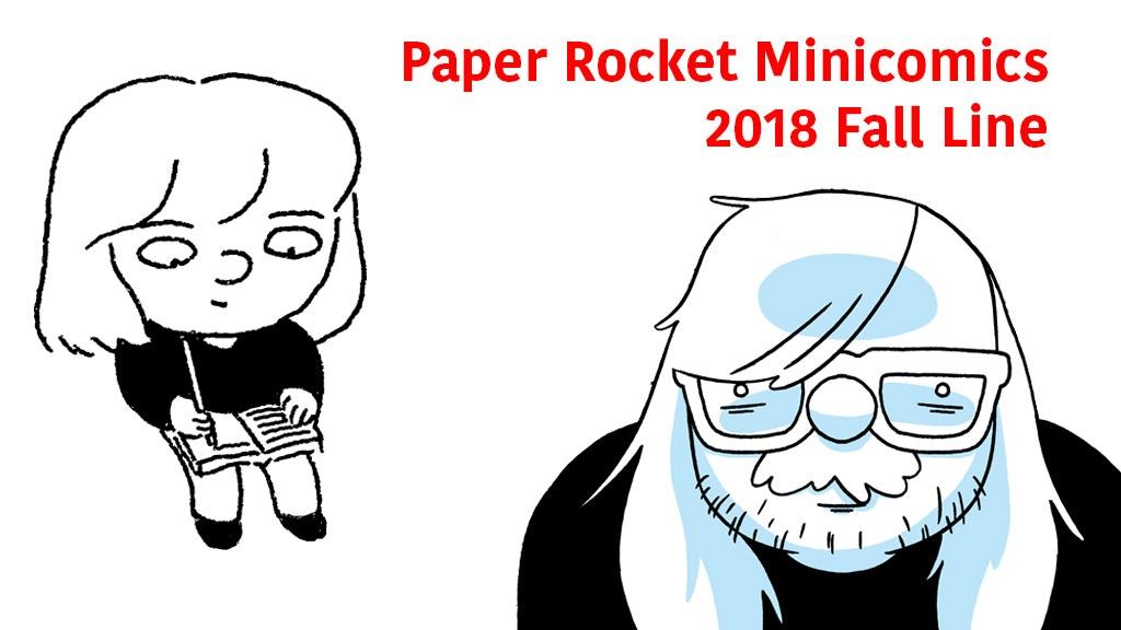 Paper Rocket Minicomics 2018 Fall Line project video thumbnail