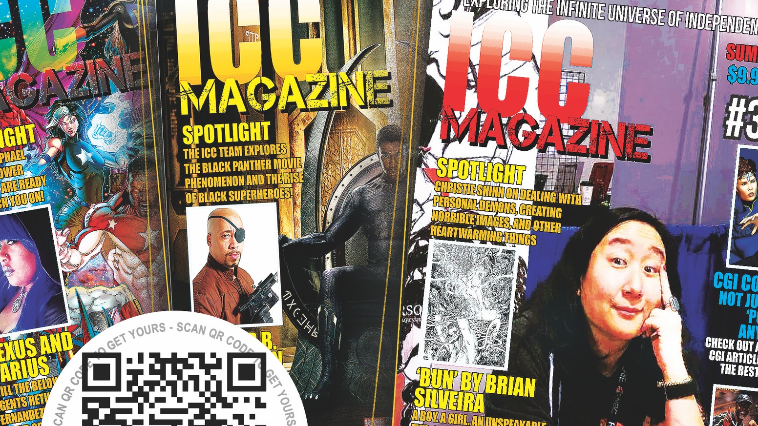 ICC Magazine has been picked up by Diamond Comic Distributors! Indie Comic Artists now have a national voice and yours can join in!