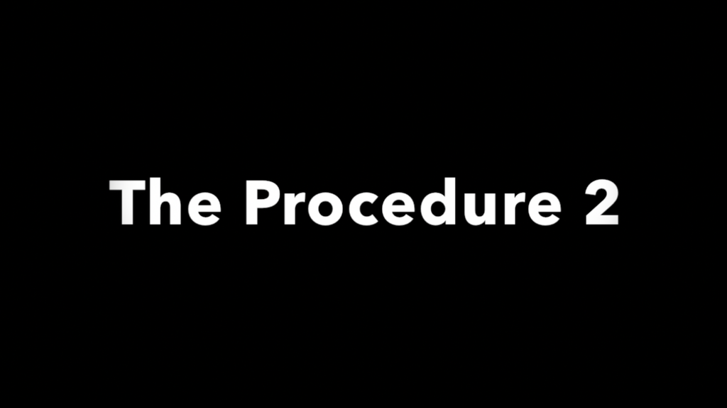 The Procedure 2 project video thumbnail