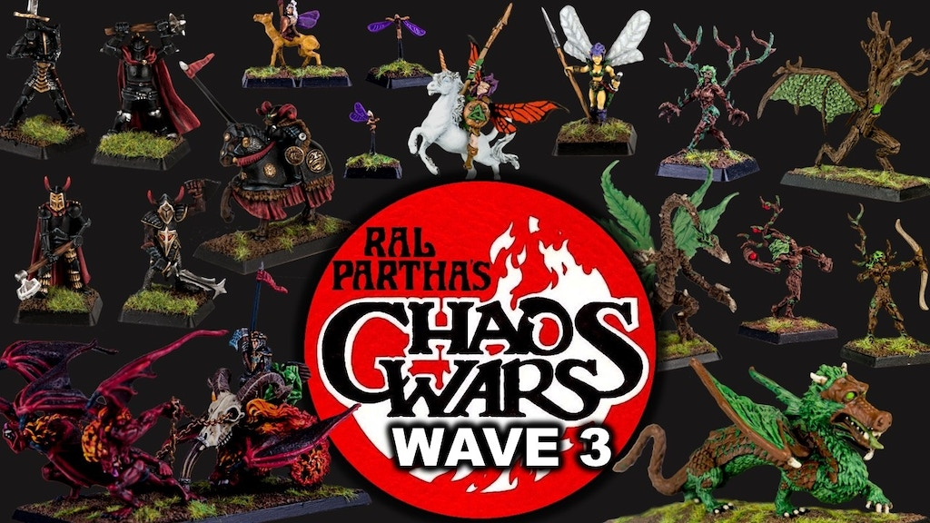 Ral Partha's Chaos Wars - Wave 3 project video thumbnail