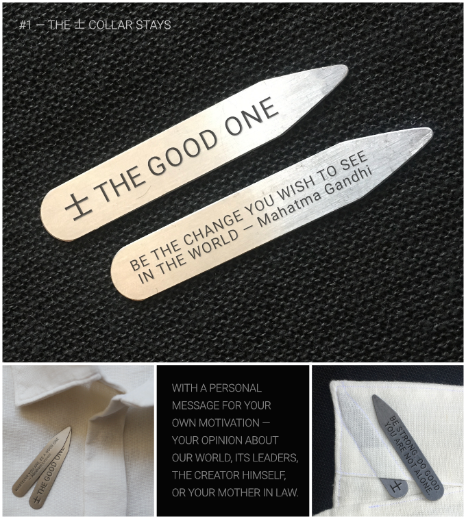 士 THE GOOD ONE‹ — FOR GOOD PEOPLE AND GOOD CAUSES by Georgi