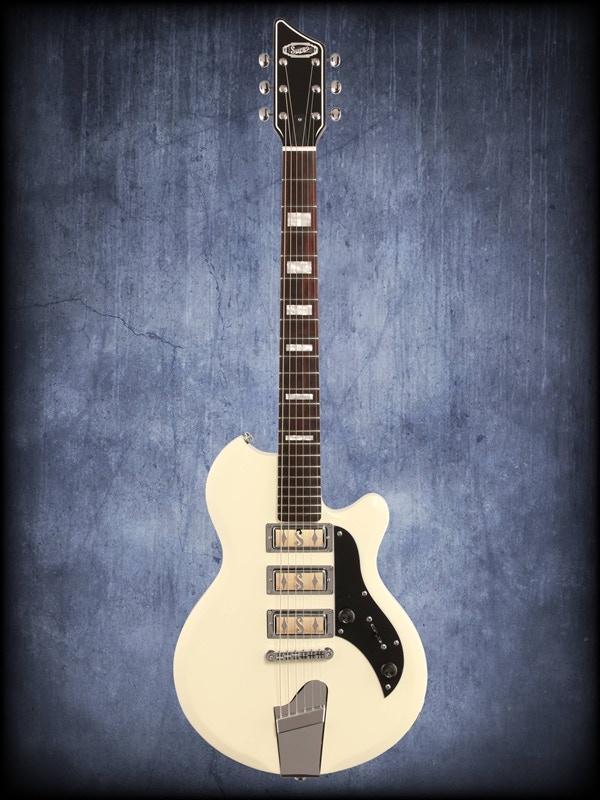 My Supro Hampton guitar