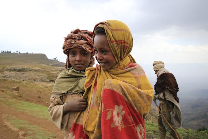 Ethiopian Highlands north of Lalibela. 2018.
